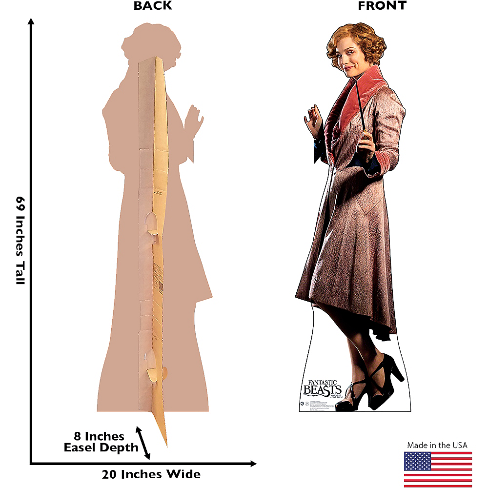 Queenie Goldstein Life-Size Cardboard Cutout - Fantastic Beasts And Where To Find Them Image #3