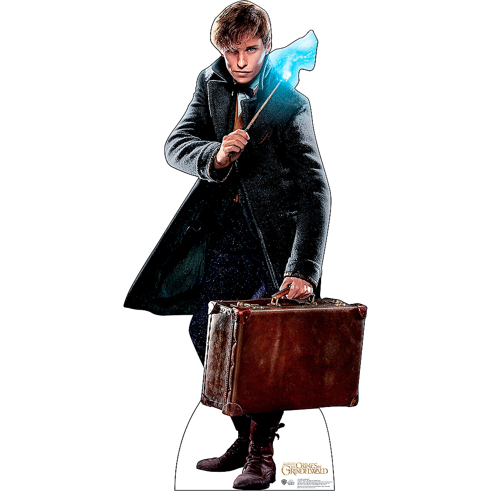 Newt Scamander Life-Size Cardboard Cutout - Fantastic Beasts And Where To Find Them Image #1