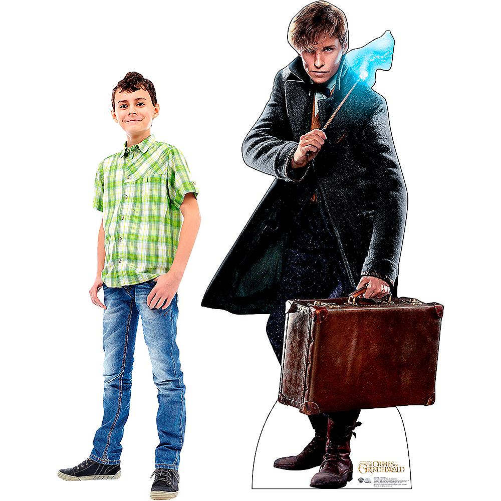Newt Scamander Life-Size Cardboard Cutout - Fantastic Beasts And Where To Find Them Image #2