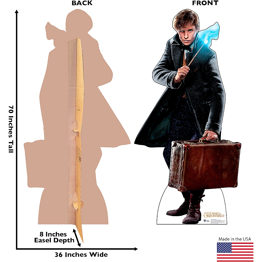 Newt Scamander Life-Size Cardboard Cutout - Fantastic Beasts And Where To Find Them Image #3