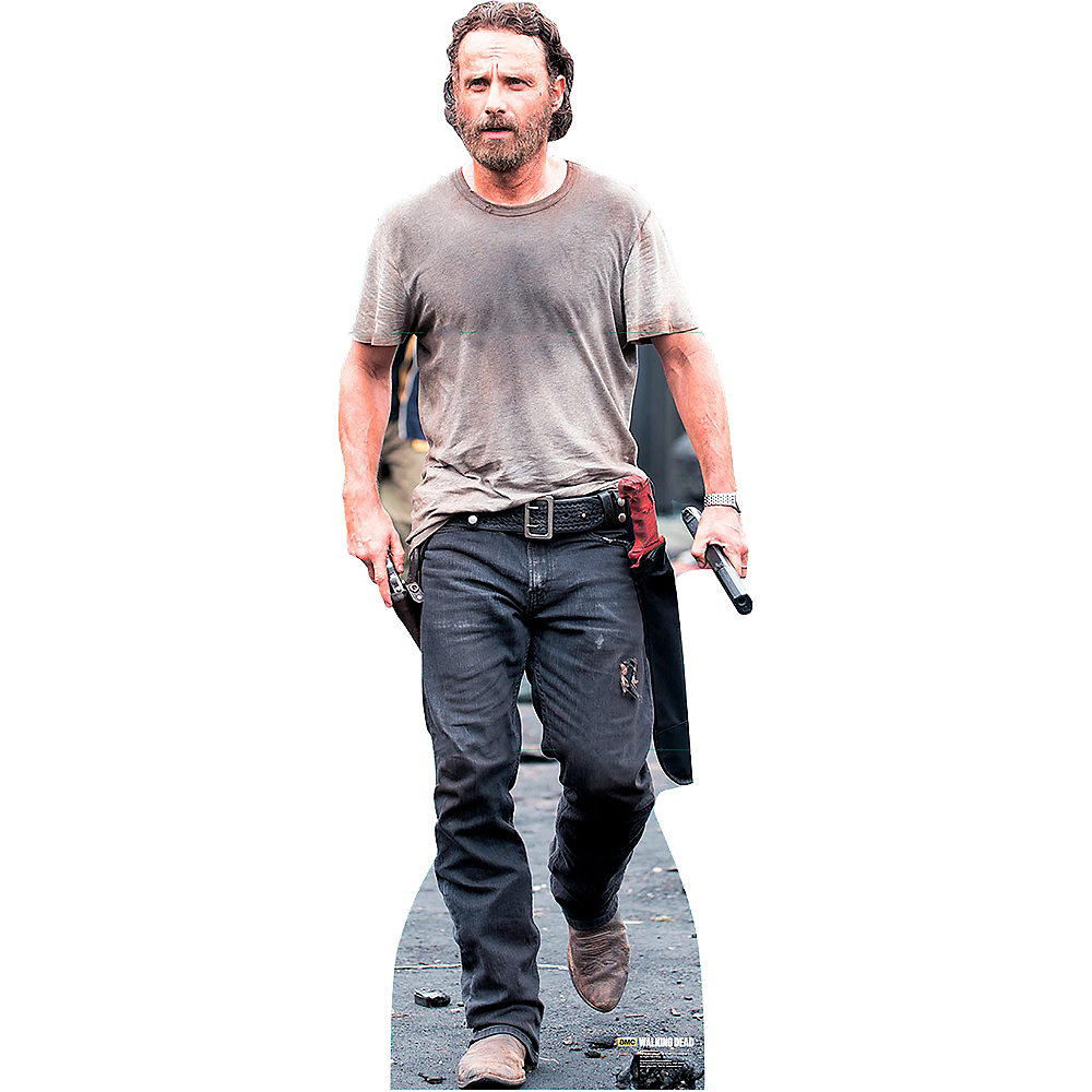 Rick Grimes Life-Size Cardboard Cutout - The Walking Dead Image #1