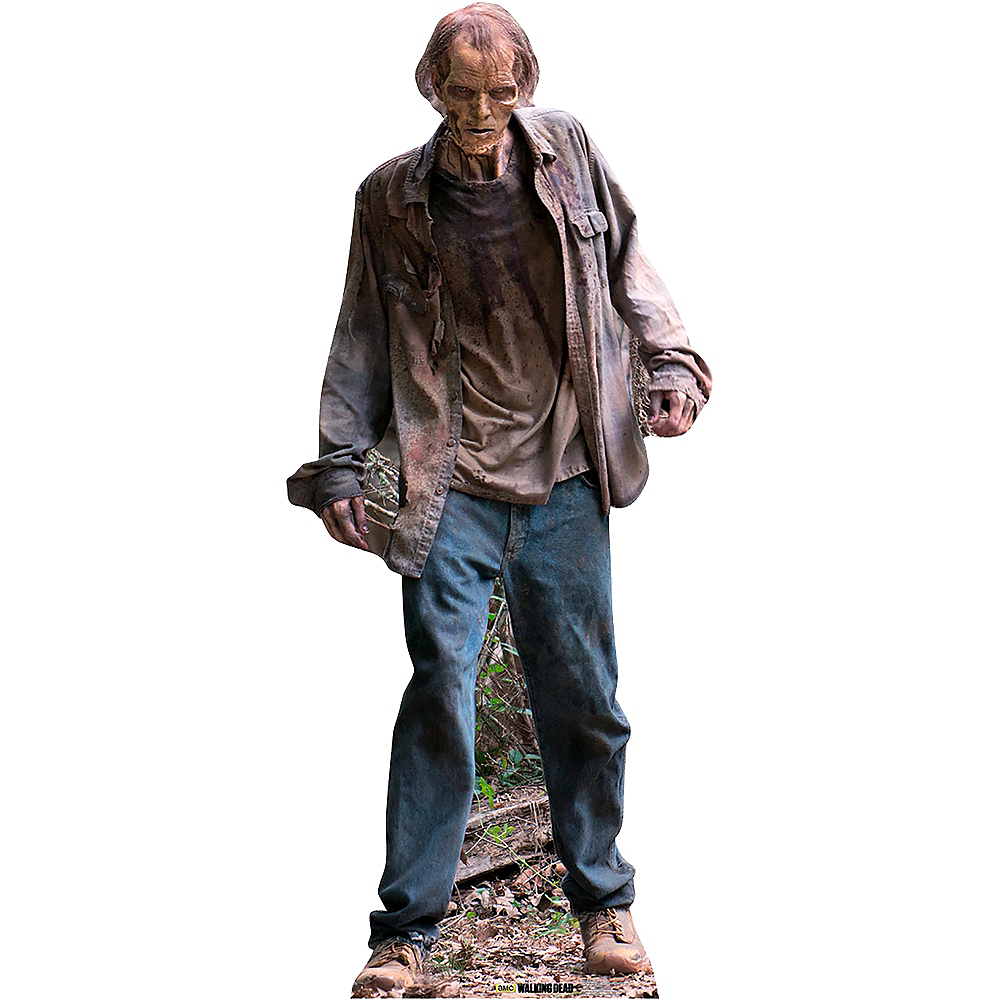 Nav Item for Male Walker Life-Size Cardboard Cutout - The Walking Dead Image #1