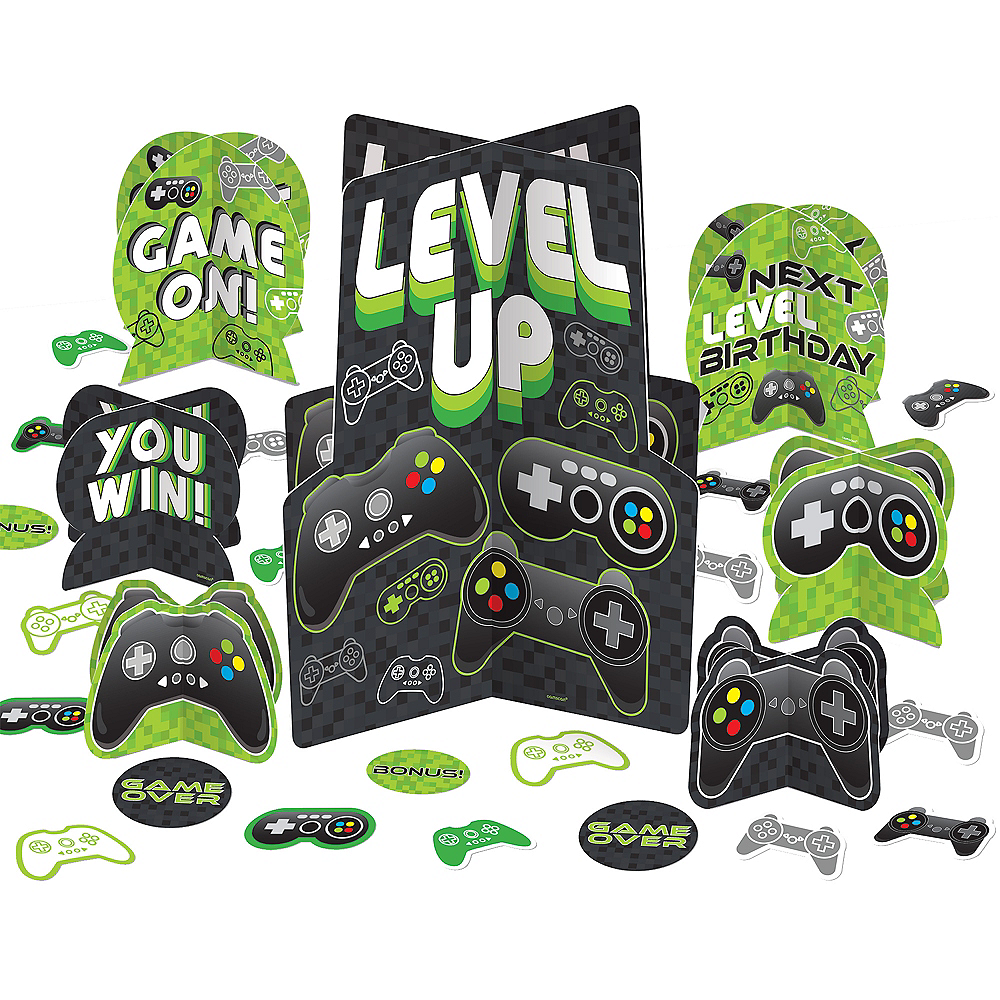 Level Up Table Decorating Kit 27pc Image #1
