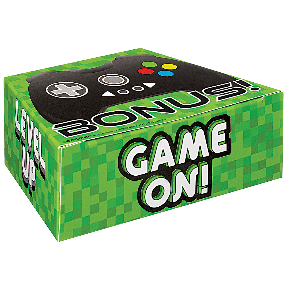 Level Up Game Controller Favor Box 8ct Image #1