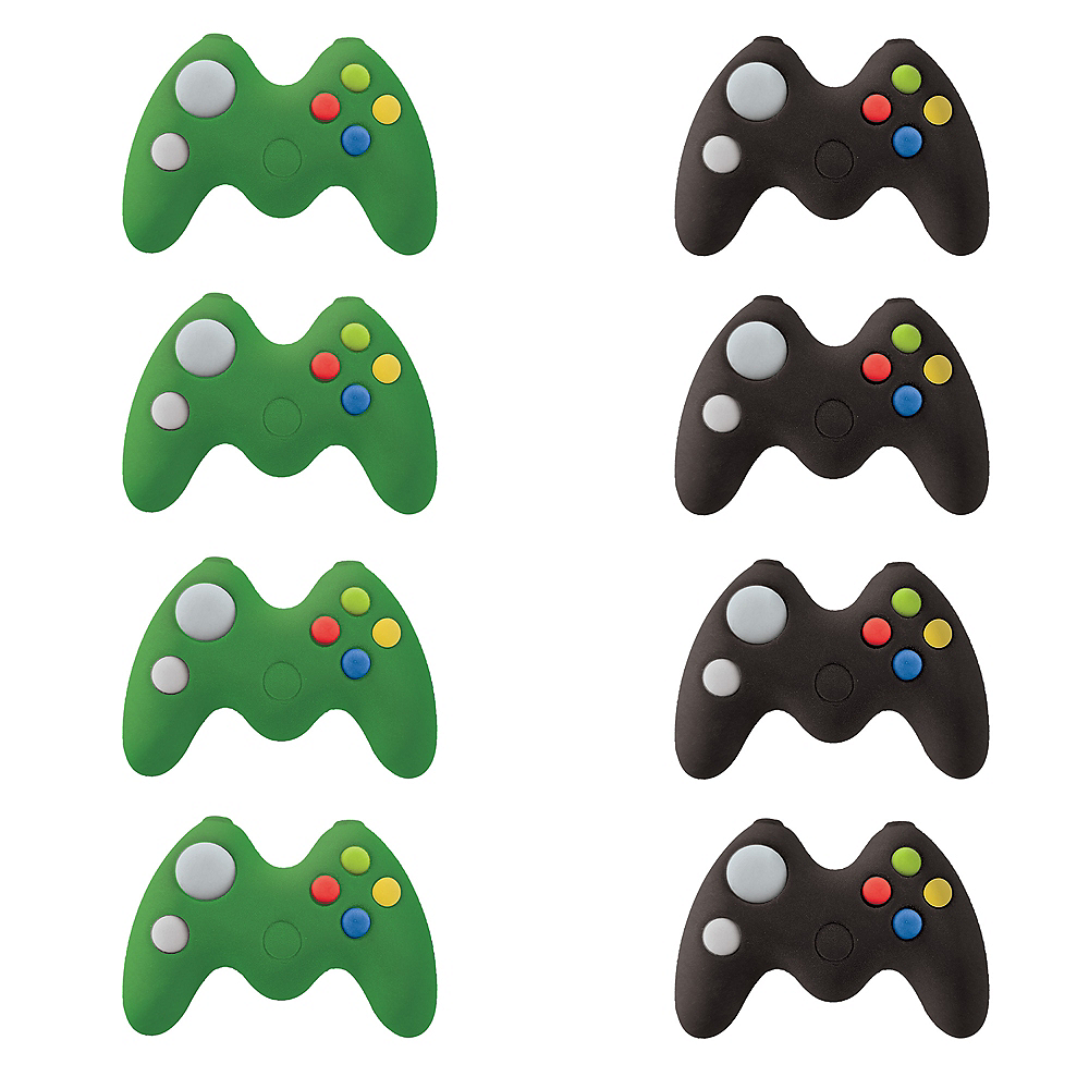Level Up Game Controller Erasers 8ct Image #1