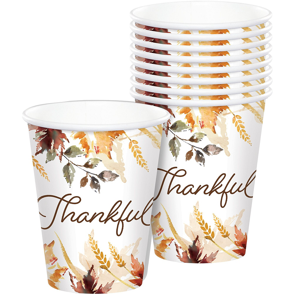 Classic Thanksgiving Tableware Kit for 50 Guests Image #6