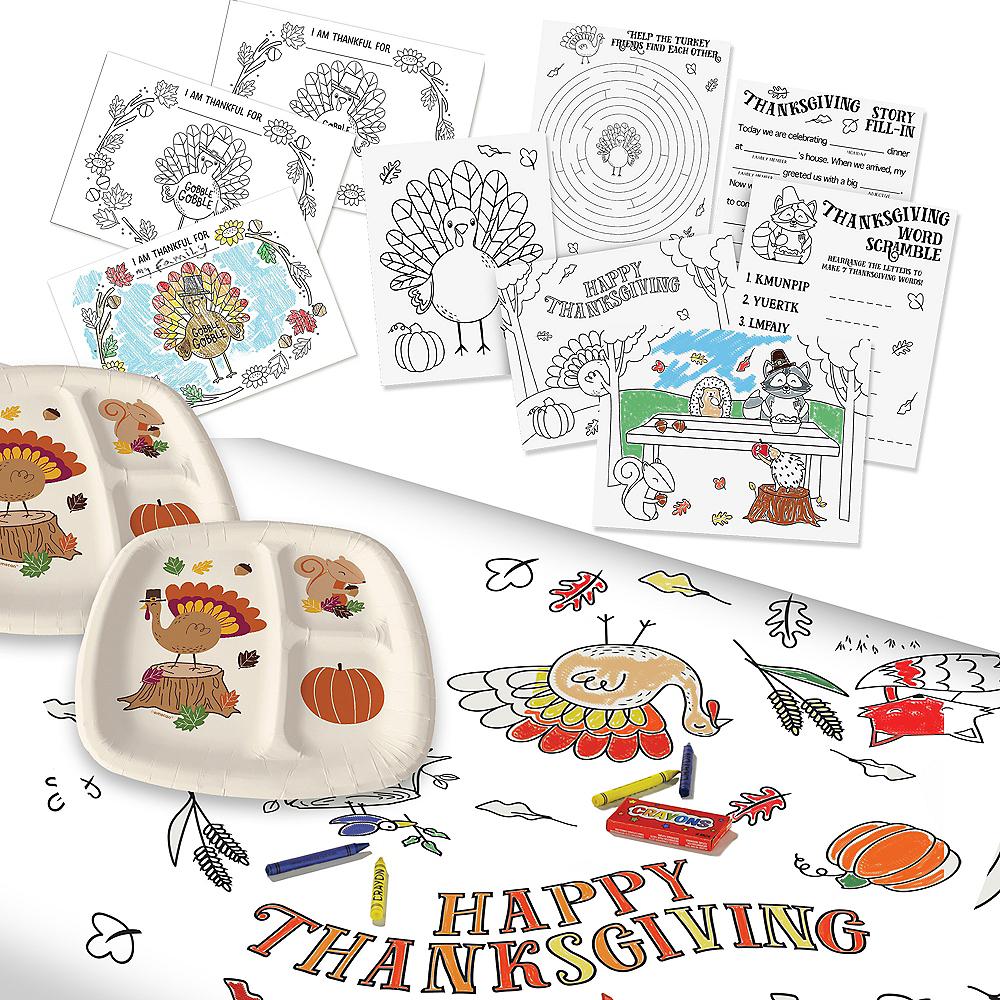 Thanksgiving Tableware Activity Kit Image #1