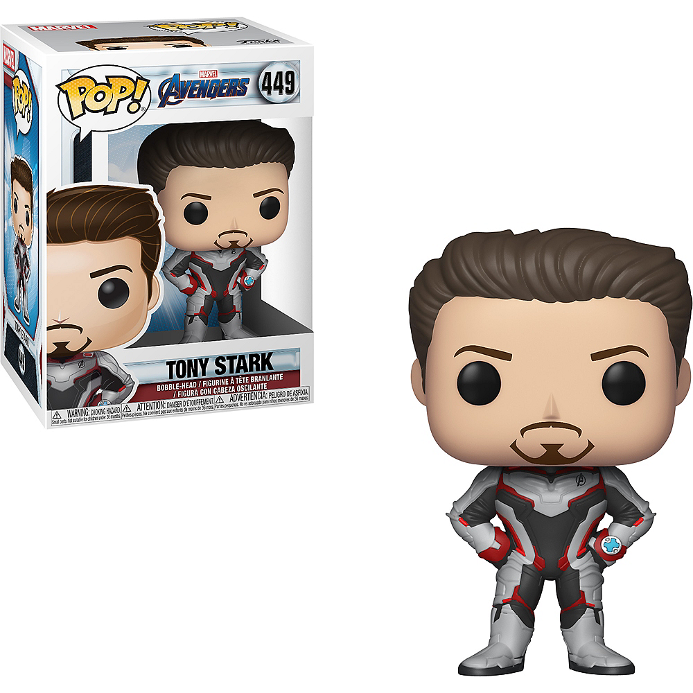 Funko Pop! Tony Shark Figure - Avengers: Endgame Image #1