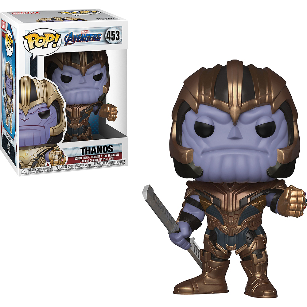 Nav Item for Funko Pop! Thanos Figure - Avengers: Endgame Image #1