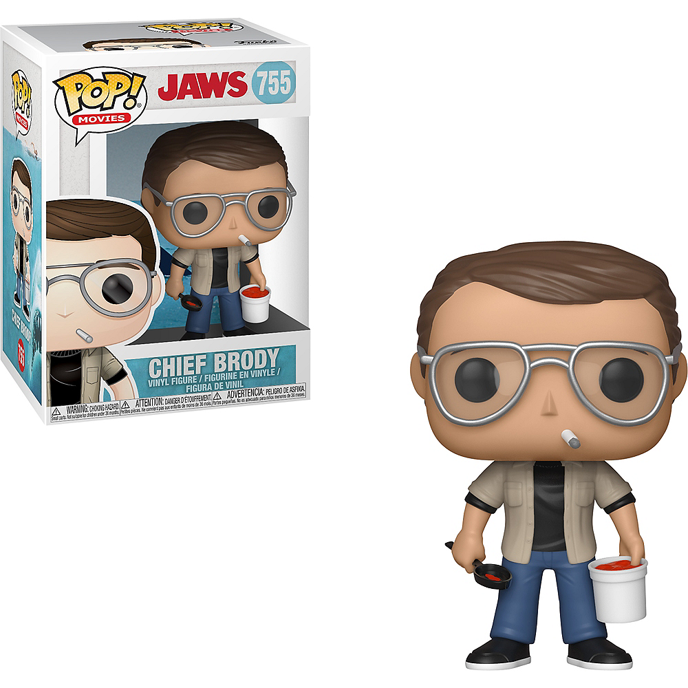 Funko Pop! Chief Brody Figure - Jaws Image #1
