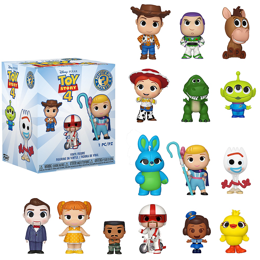 Funko Pop! Mini Toy Story 4 Figures Mystery Pack - Toy Story 4 Image #1