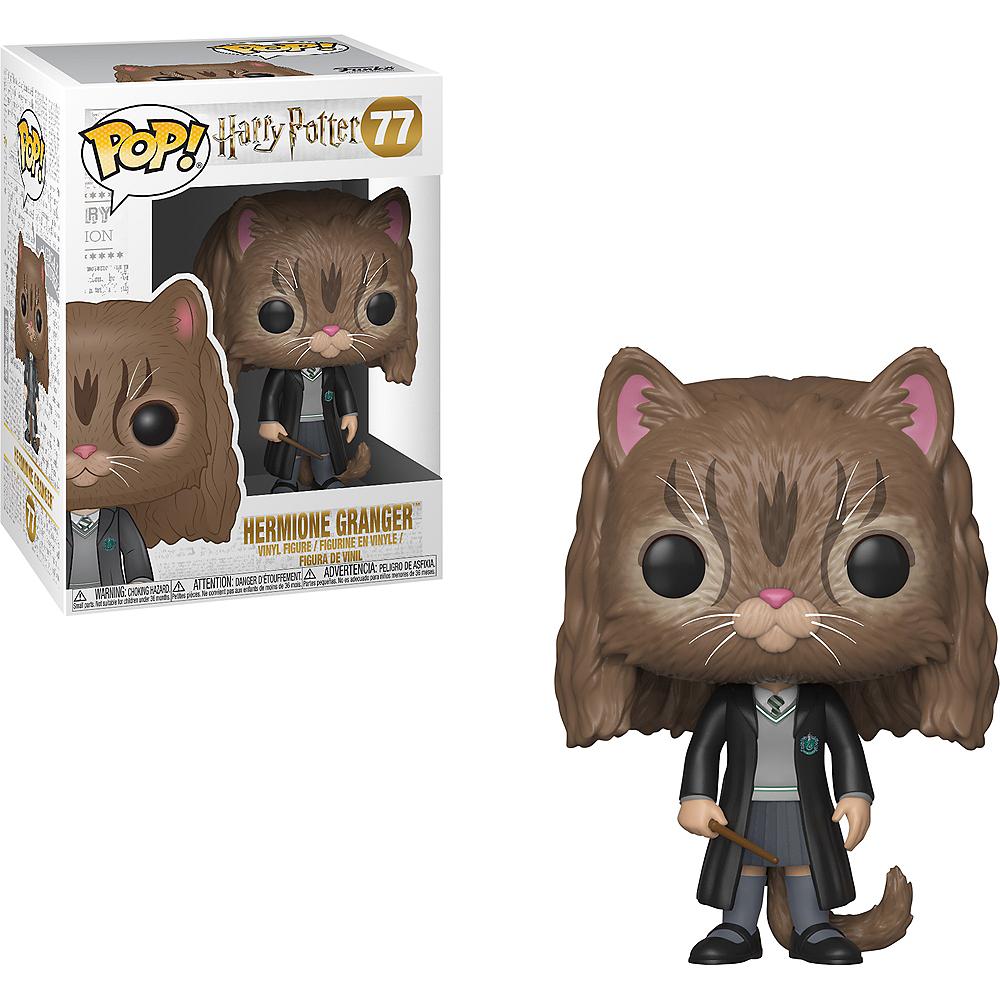 Funko Pop! Hermione Granger Cat Figure - Harry Potter Image #1