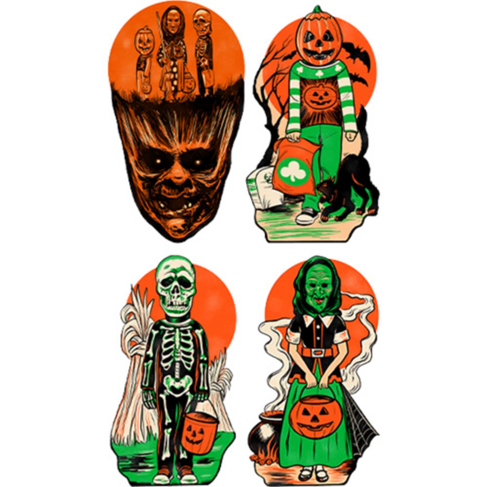 Halloween Series III Wall Decals 6ct Image #1