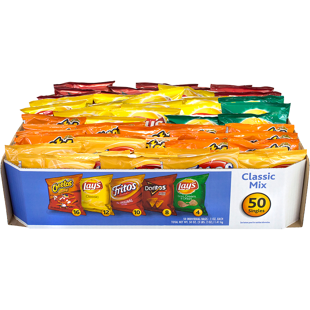 Frito-Lay Classic Mix Variety Pack 50ct Image #3