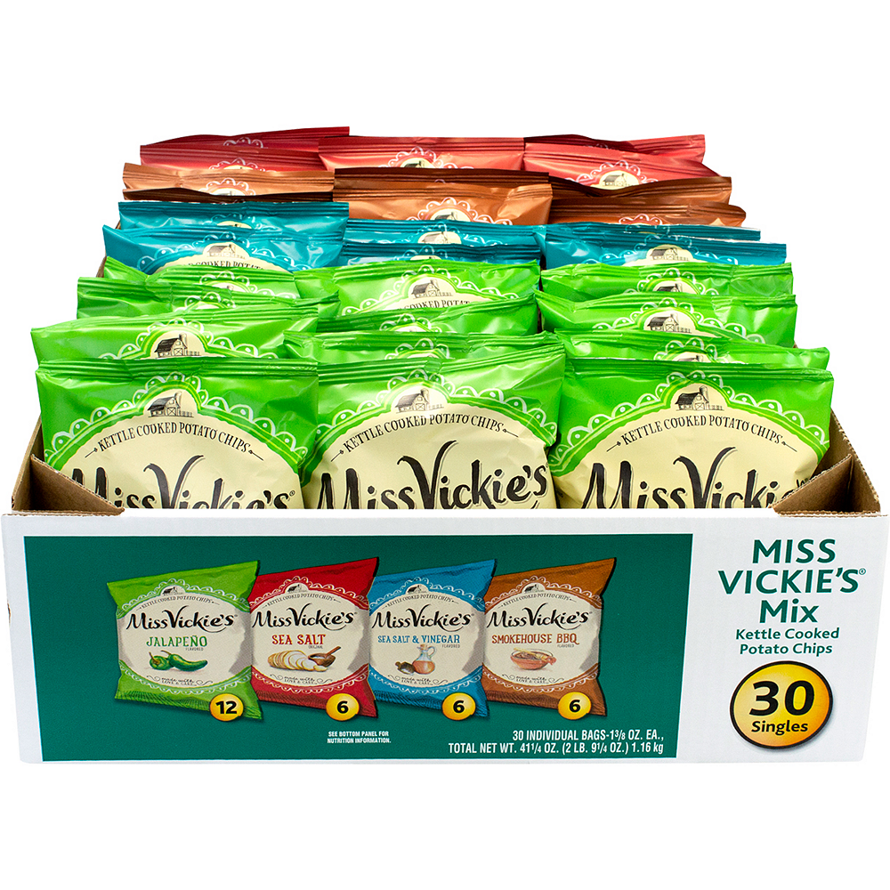 Miss Vickie's Kettle Cooked Potato Chip Mix 30ct Image #3