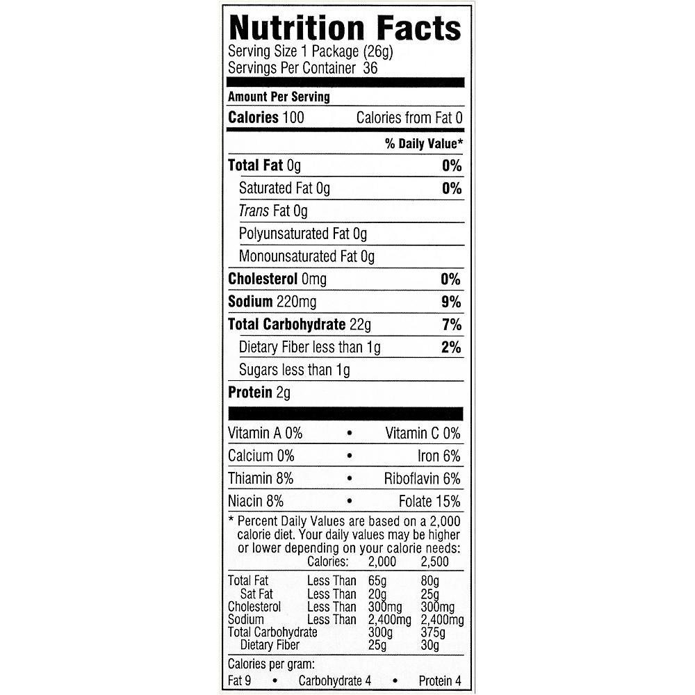 Snyder's Mini Pretzels 100 Calorie Bags Case 36ct Image #6