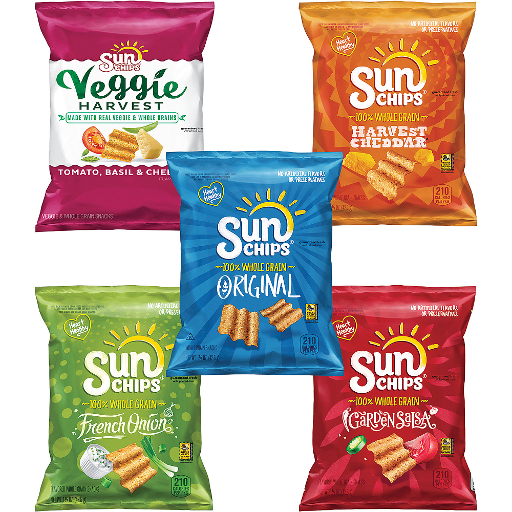 Sunchips Multigrain Chips Variety Mix 30ct Image #3
