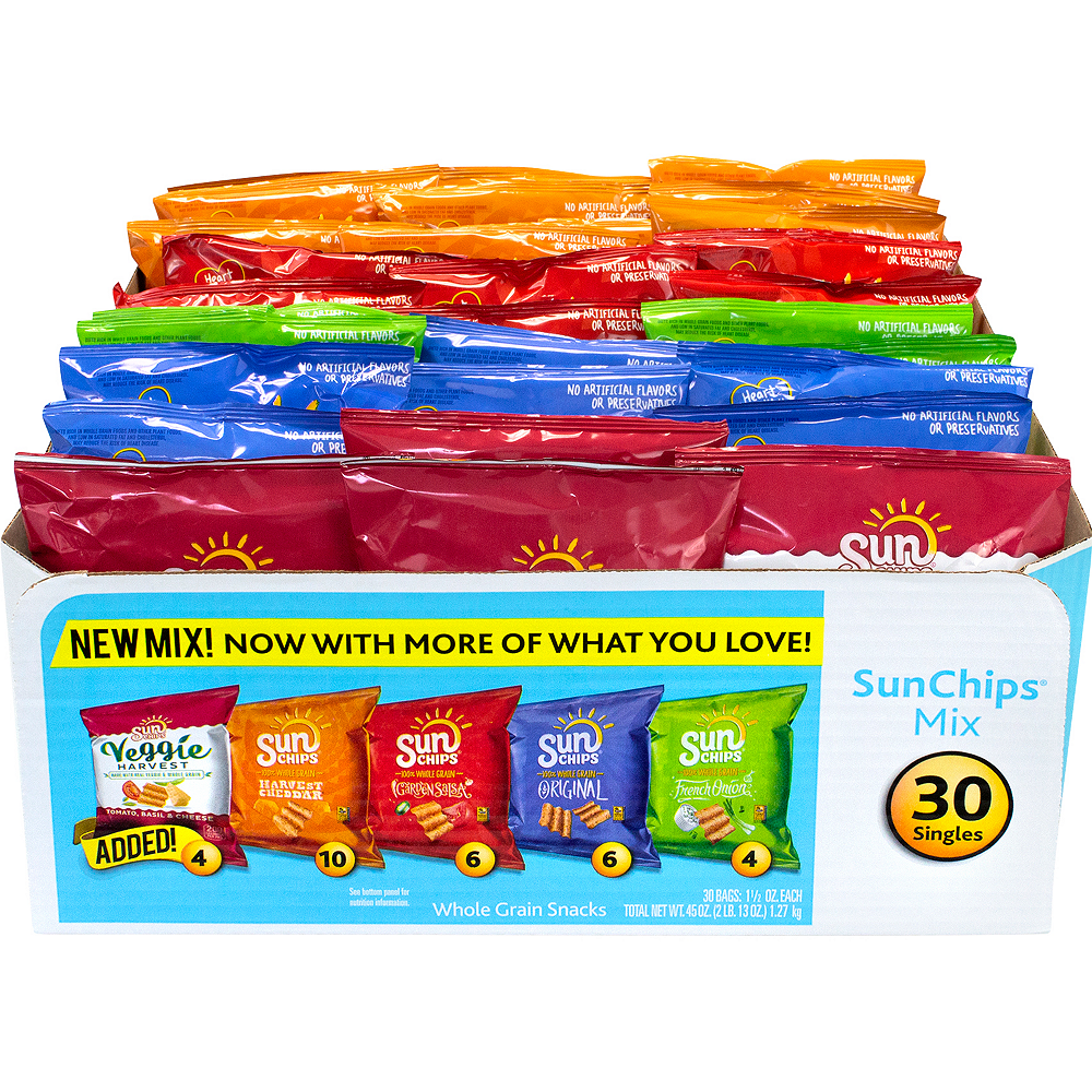 Sunchips Multigrain Chips Variety Mix 30ct Image #4