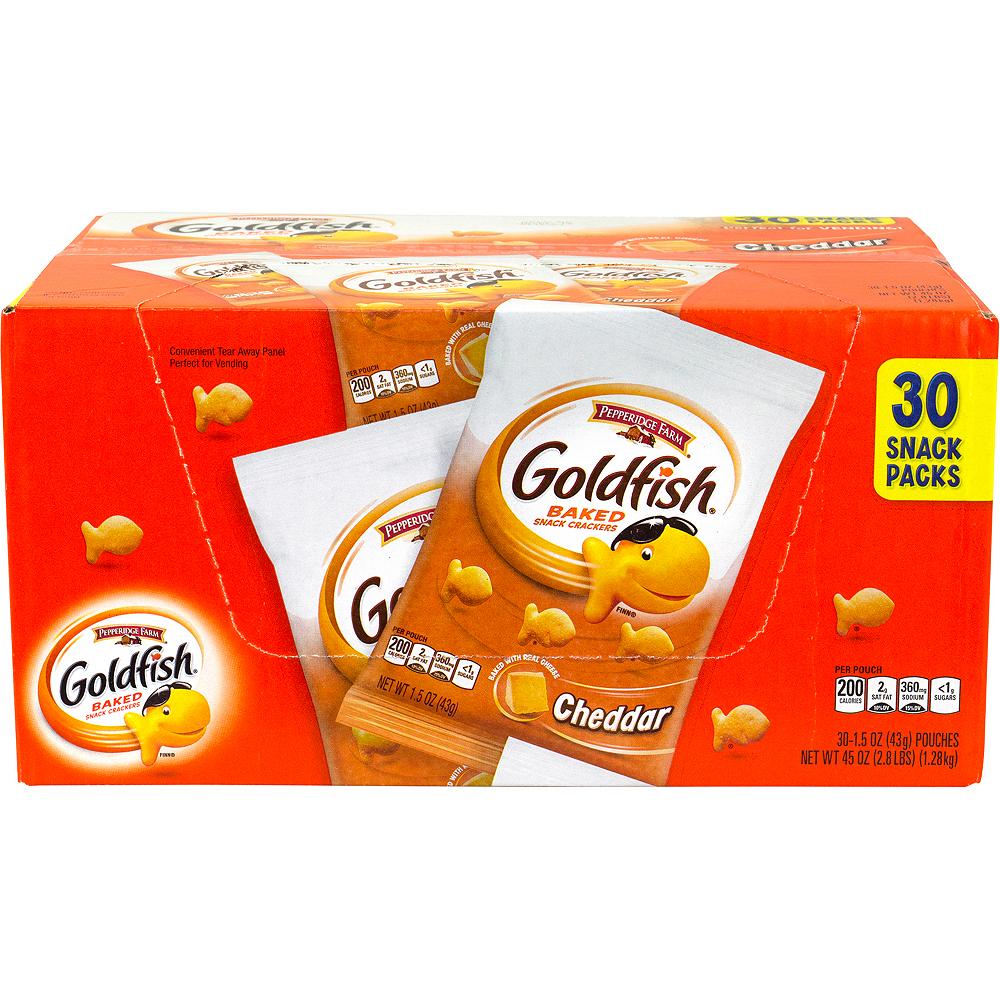 Pepperidge Farm Goldfish Baked Snack Crackers 30ct Image #4