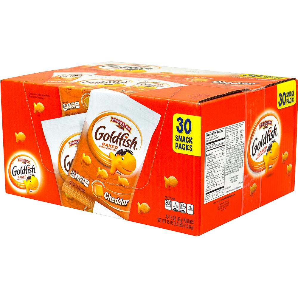Pepperidge Farm Goldfish Baked Snack Crackers 30ct Image #5
