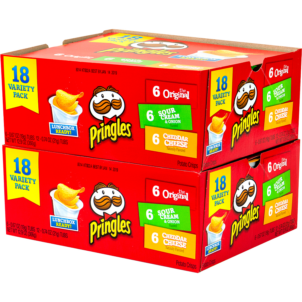 Pringles Snack Stacks Variety Pack 36ct Image #3