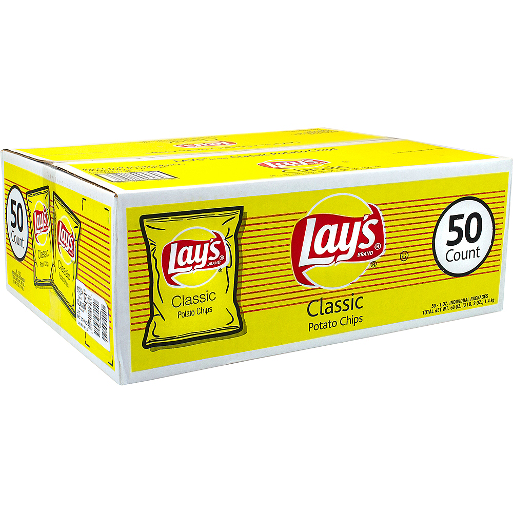 Lay's Original Potato Chips 50ct Image #1