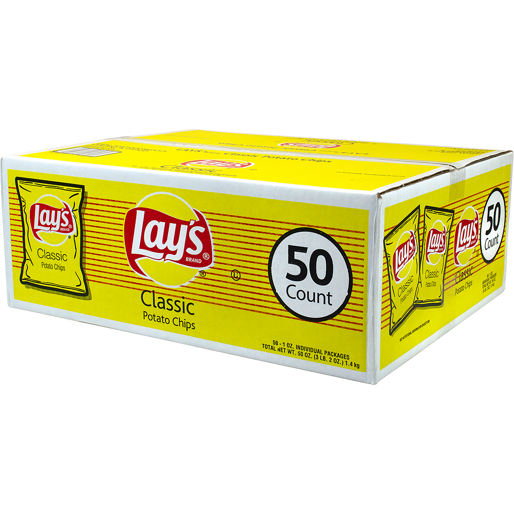 Lay's Original Potato Chips 50ct Image #5