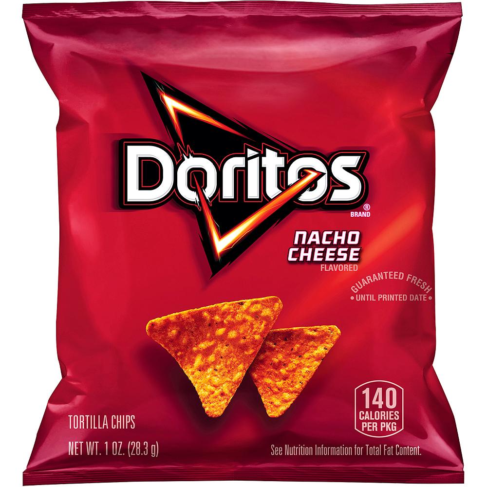 Doritos Nacho Cheese Tortilla Chips 50ct Image #2