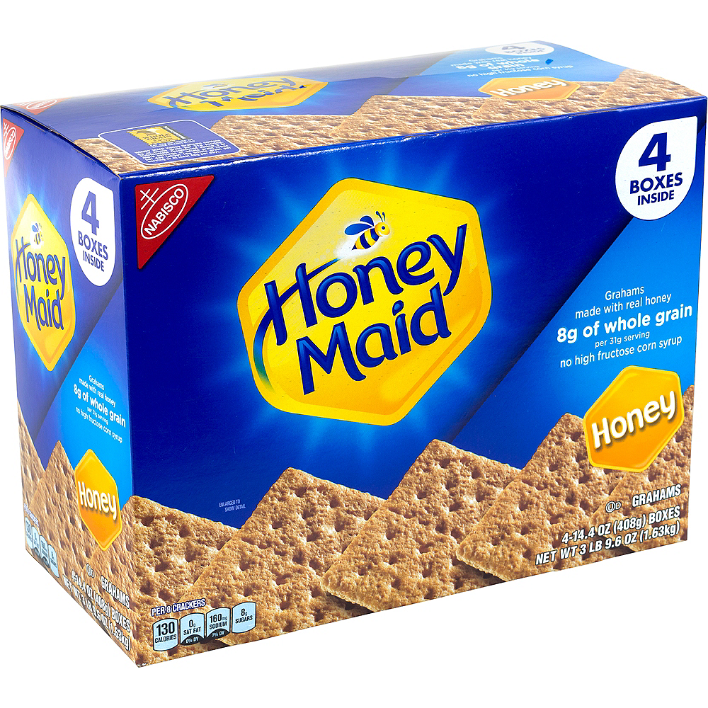 Honey Maid Honey Graham Crackers Value Pack 4ct Image #1