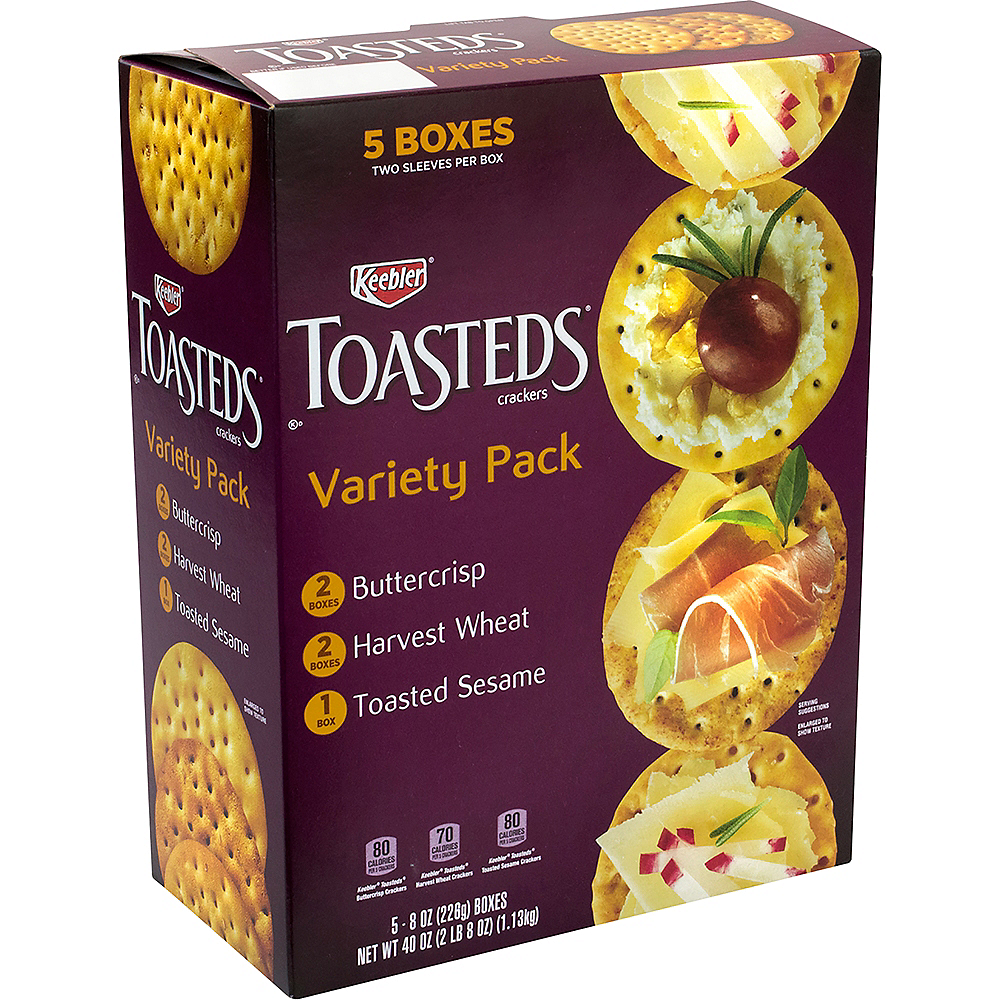 Keebler Toasted Crackers Variety Pack Image #1
