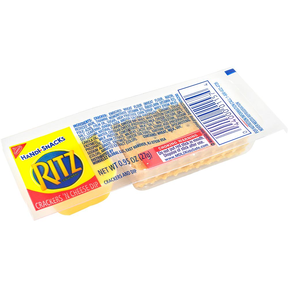 Ritz Crackers 'N Cheesy Dip Handi-Snacks 30ct Image #2