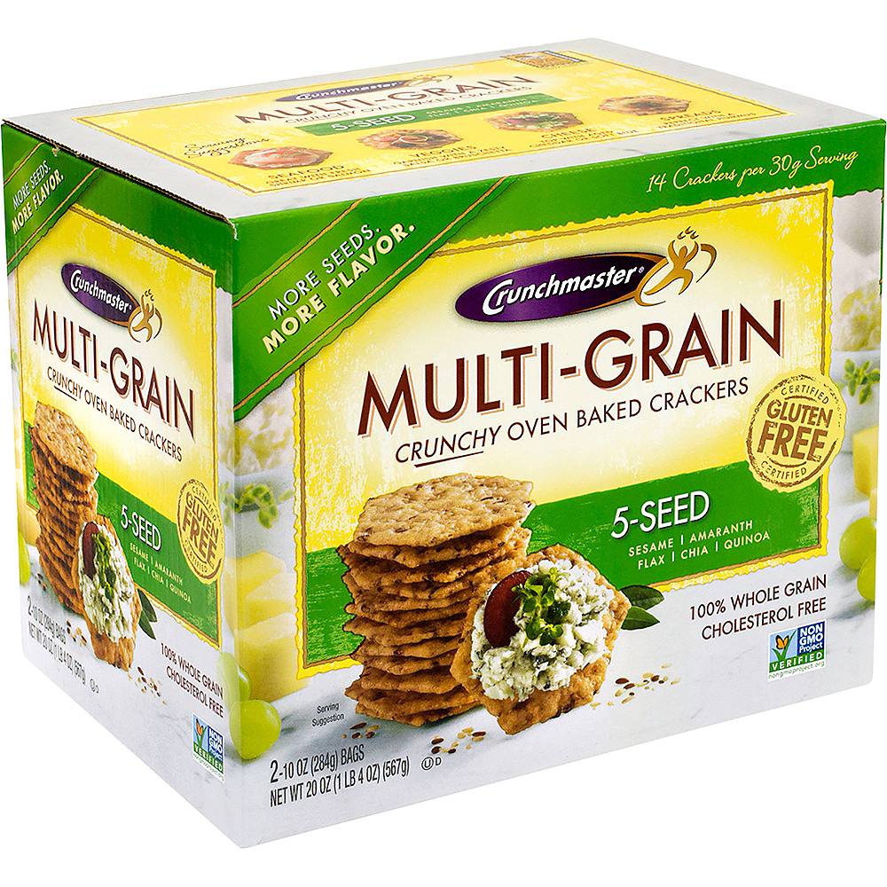 Crunchmaster 5-Seed Multi-Grain Crackers Image #1