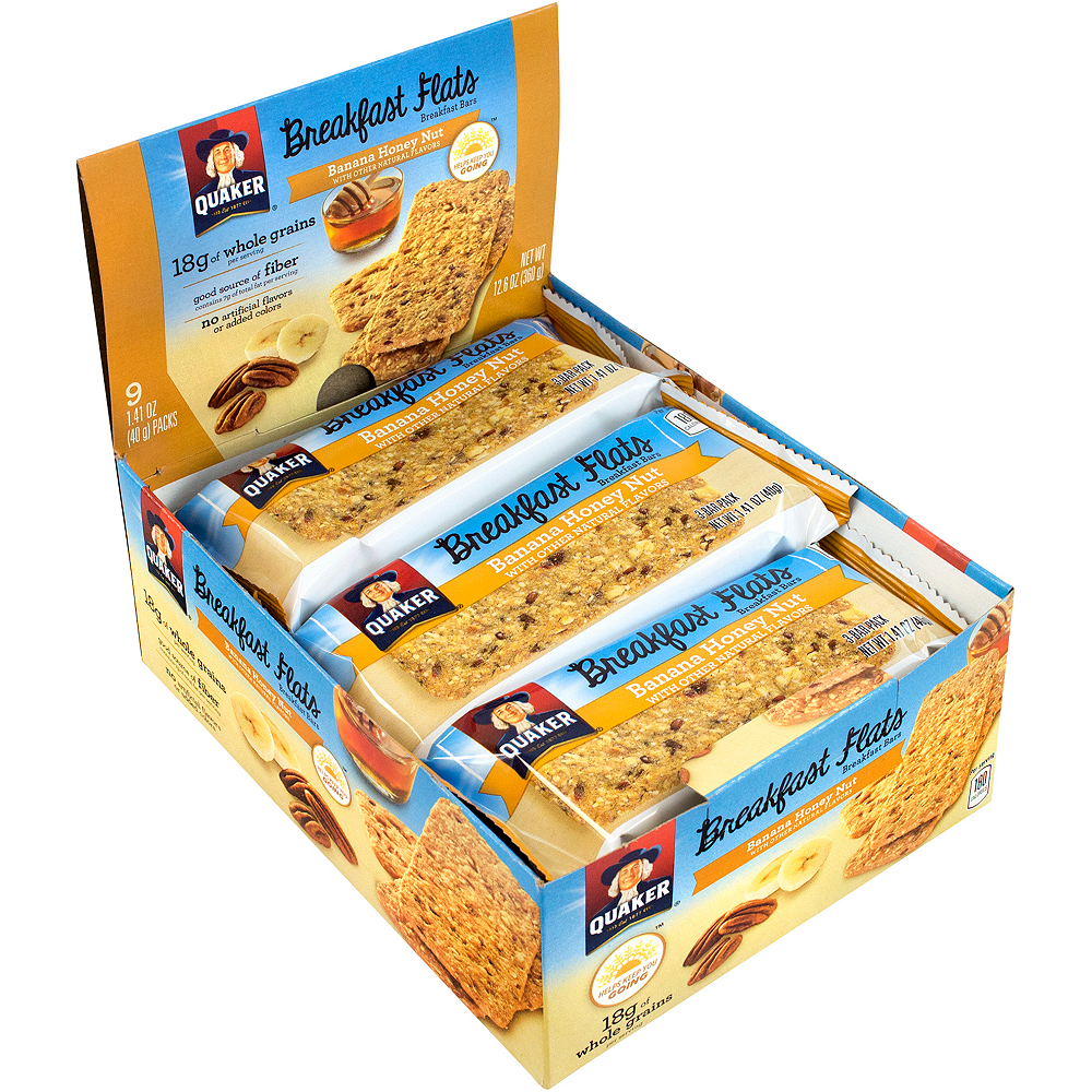 Quaker Banana Honey Nut Breakfast Flats 18ct Image #2
