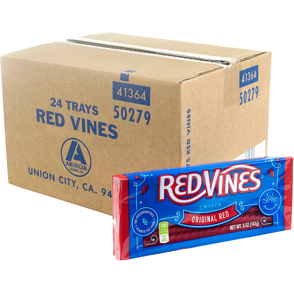 King Size Red Vines Trays 24ct Image #1