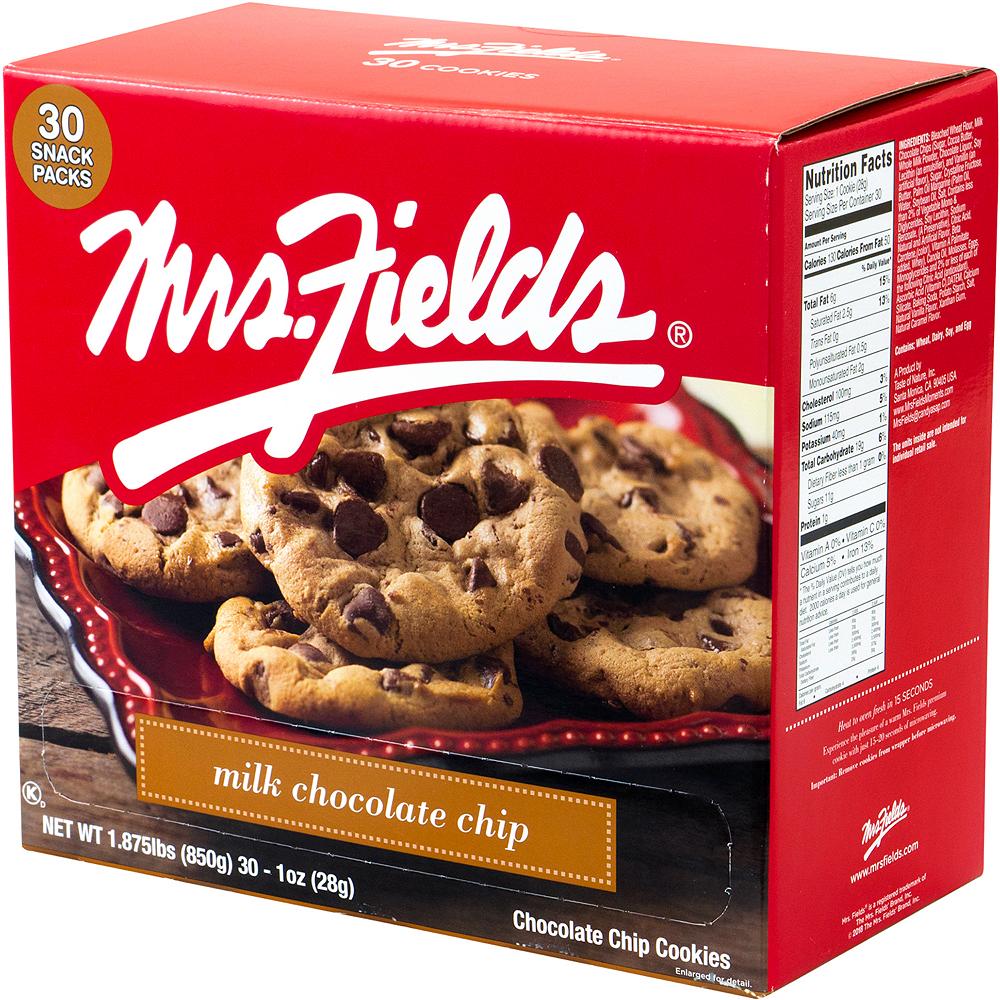 Mrs. Fields Milk Chocolate Chip Cookies 30ct Image #3