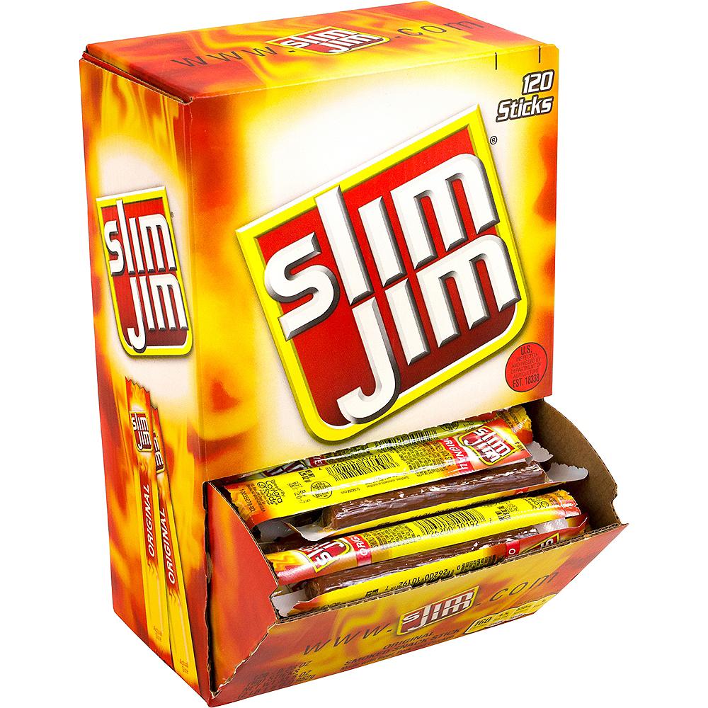 Slim Jim Original Beef Jerky Meat Sticks 120ct Image #1
