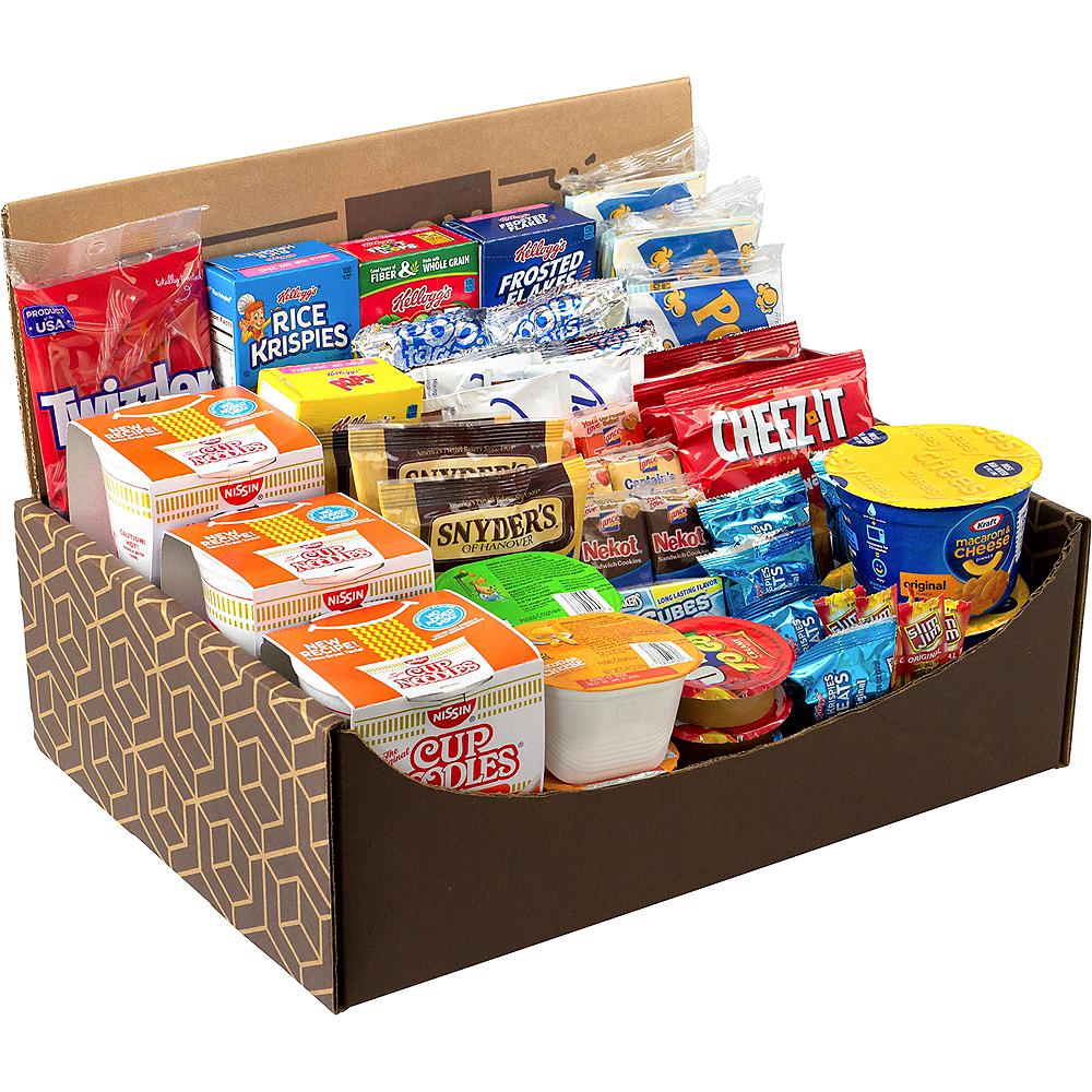 Dorm Room Survival Snack Box 54ct Image #1