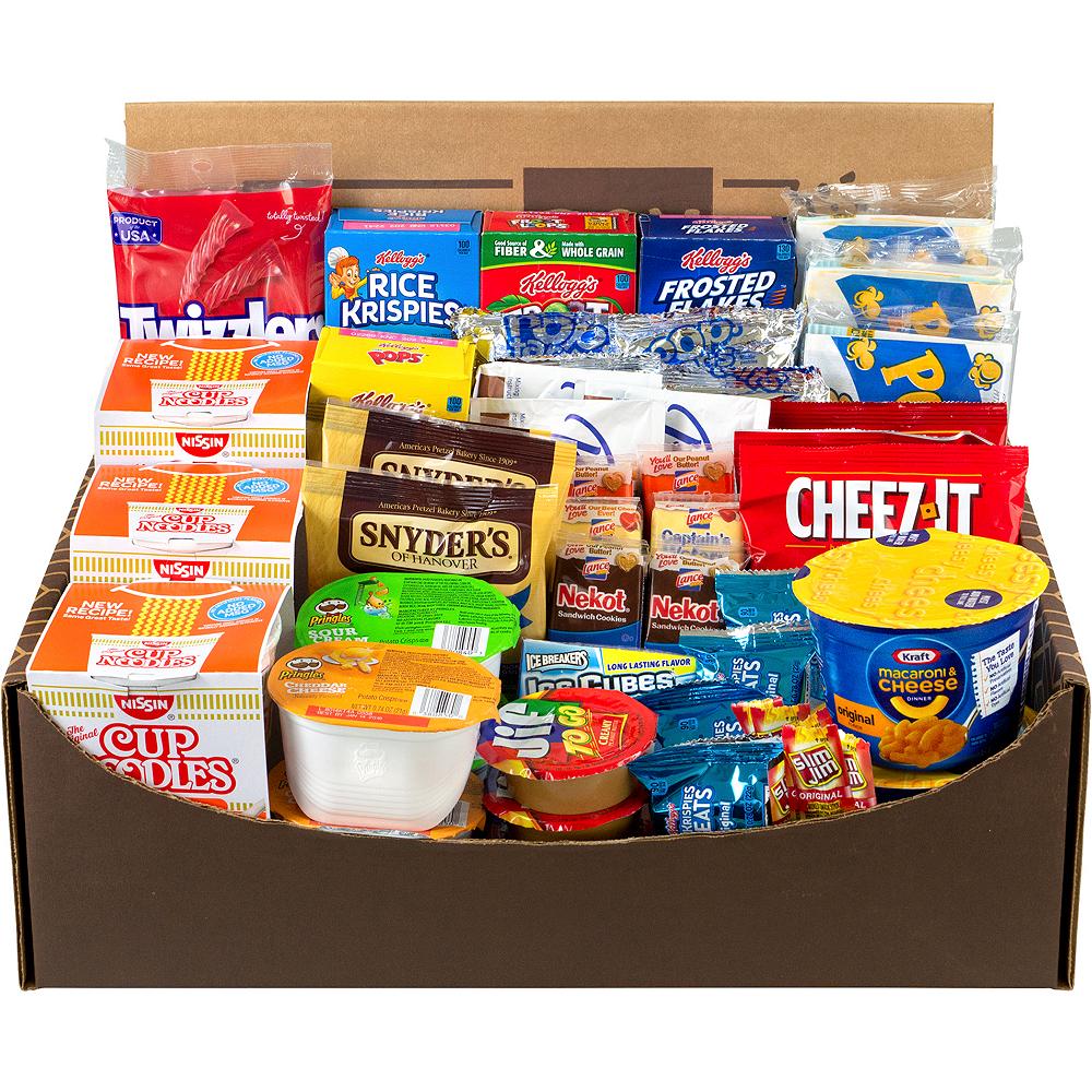Dorm Room Survival Snack Box 54ct Image #2