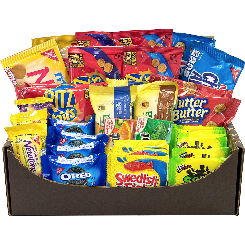 Care Package Variety Snack Box 40ct Image #1