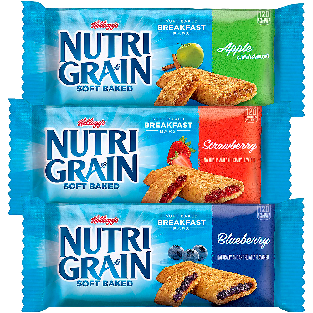 Kellogg's Assorted Nutri Grain Soft Baked Breakfast Bars 48ct Image #2