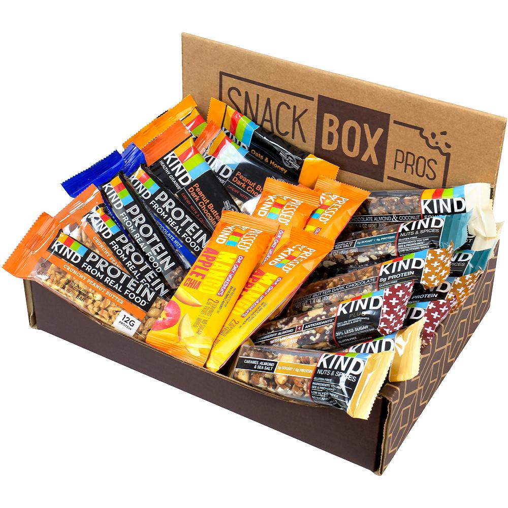 Kind Bars Favorites Snack Box 22ct Image #3