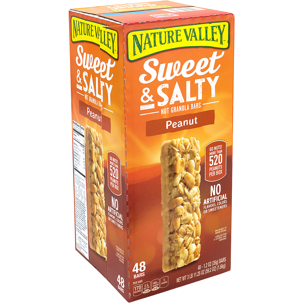 Nature Valley Peanut Sweet & Salty Nut Granola Bars 48ct Image #1