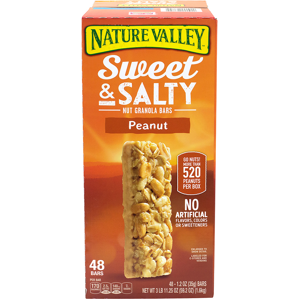 Nature Valley Peanut Sweet & Salty Nut Granola Bars 48ct Image #3