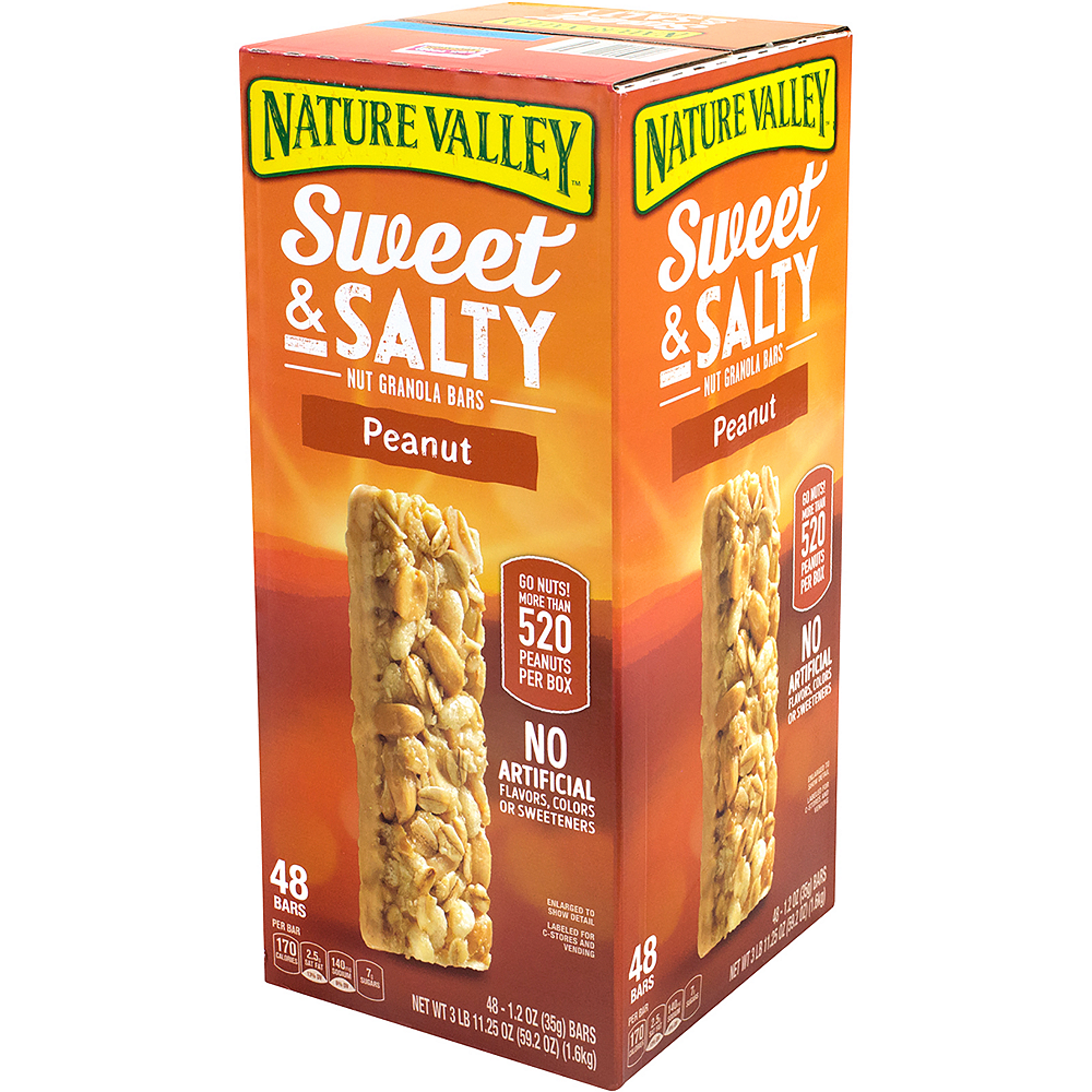 Nature Valley Peanut Sweet & Salty Nut Granola Bars 48ct Image #4