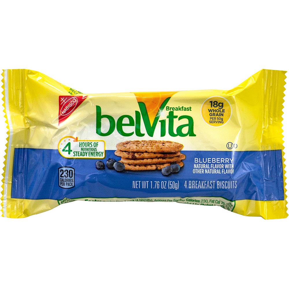 Belvita Blueberry Breakfast Biscuits 25ct Image #1