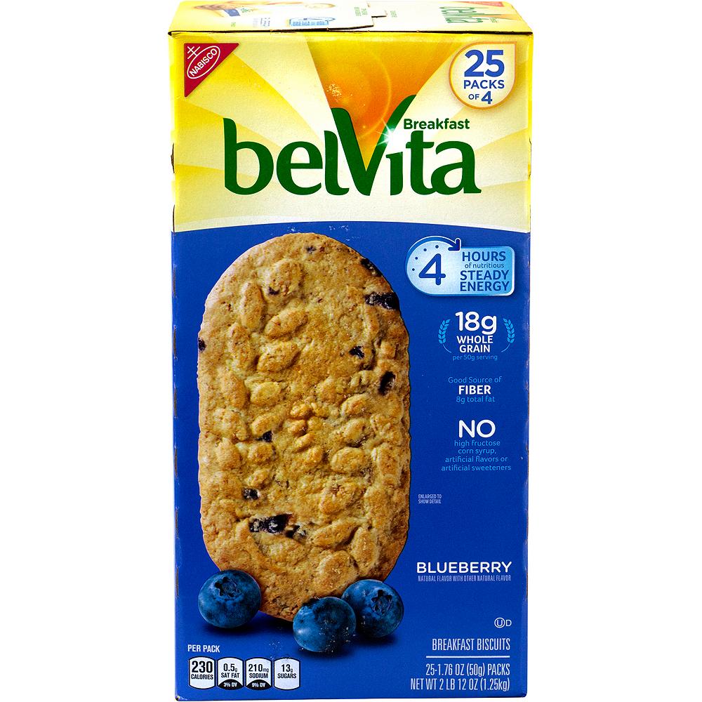Belvita Blueberry Breakfast Biscuits 25ct Image #3
