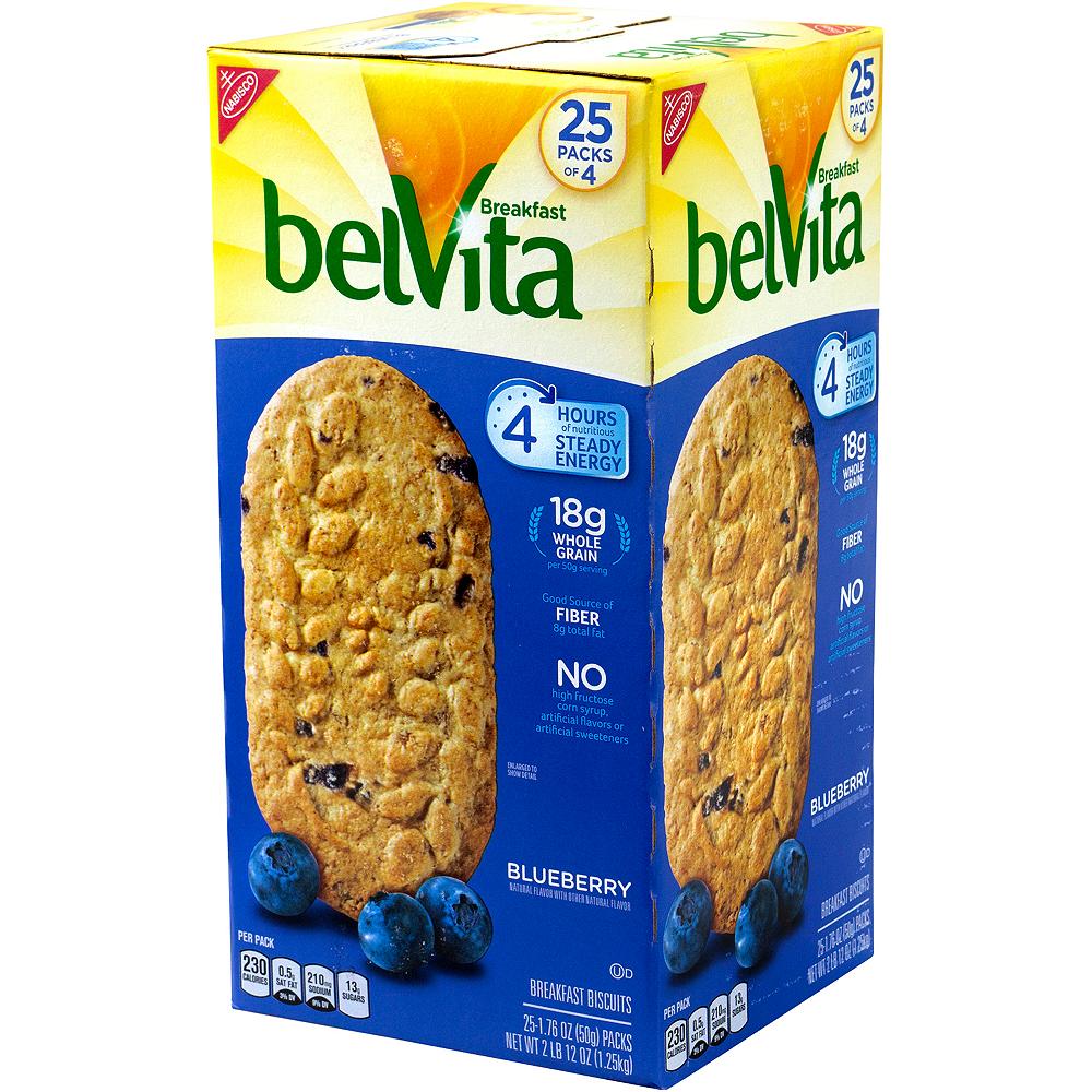 Belvita Blueberry Breakfast Biscuits 25ct Image #4