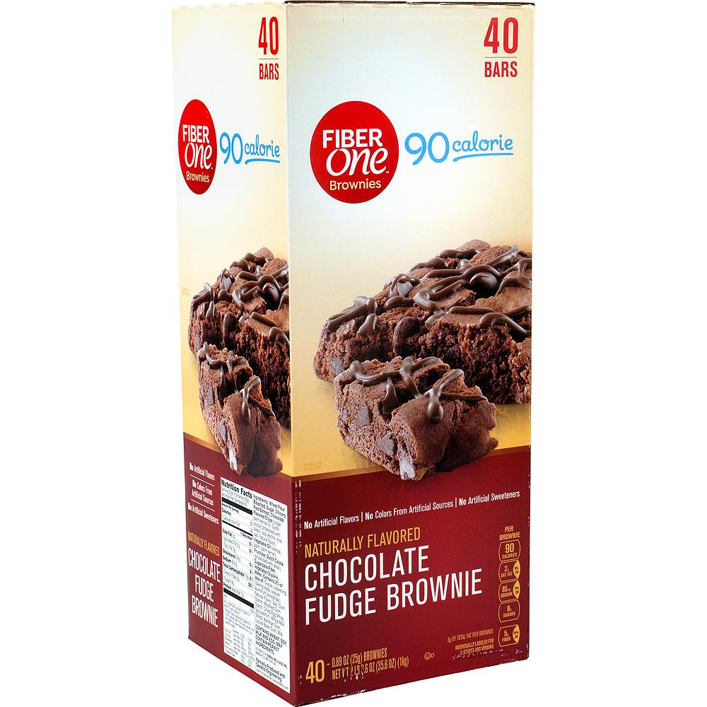 Fiber One 90 Calorie Chocolate Fudge Brownies 40ct Image #1