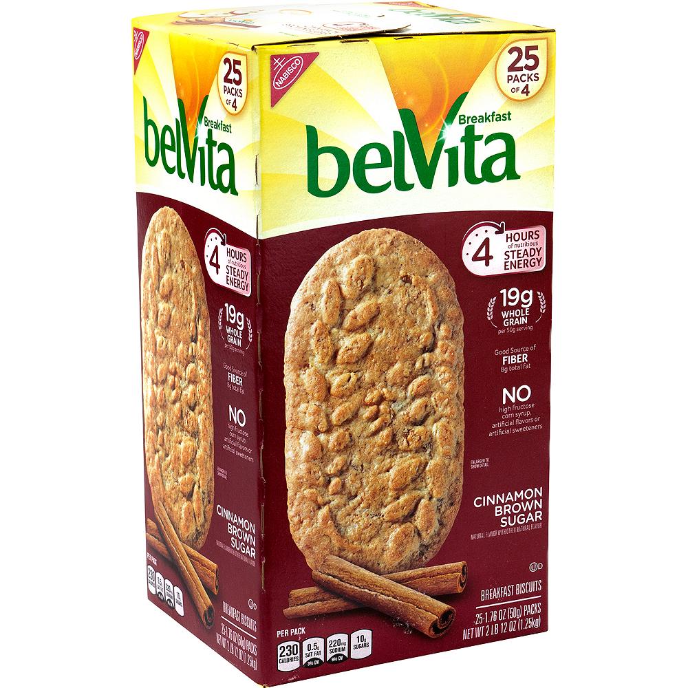 Belvita Cinnamon Brown Sugar Breakfast Biscuits 25ct Image #1