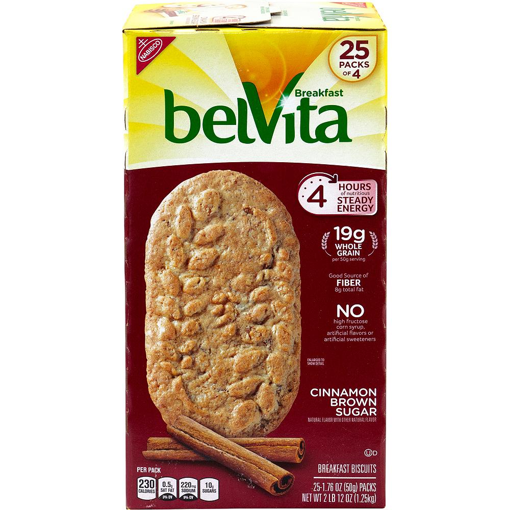 Belvita Cinnamon Brown Sugar Breakfast Biscuits 25ct Image #4